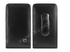 Premium Vertical Leather Fixed Swivel Clip Holster Case Pouch for BLU Phones NEW