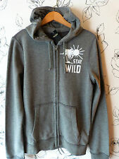 *Brand New & w/tag* Dudes / Mens 2014 Hollister by A&F Grey hoodie Small UK 38""