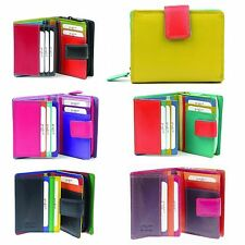Golunski 7-142 Leather Multi Coloured Purse,Wallet By Golunski
