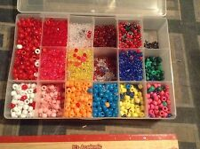 Box Or Bag of Loose Beads Great Starter Set Jewelry Craft Crafts Choose From 7