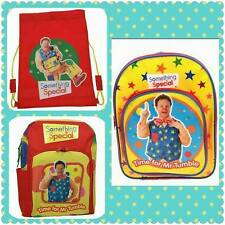 Something Special  Mr Tumble Bag Spotty Bag Trainer Bag School Backpack Cbeebies