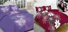 Floral Butterfly Quilt Duvet Covers & Pillowcase Bedding Bed Sets 3 Sizes NEW