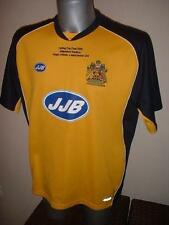 Wigan Athletic Carling Cup 2006 Shirt Jersey Football Soccer JJB Youths / L.Boys