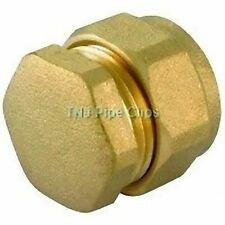 Brass Compression Stop End / End Cap / Blanking Nut - Diff Sizes - Stopend