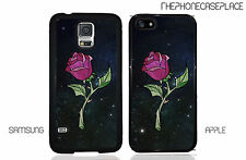 NEW Disney Beauty and the Beast Stained Glass Rose in Space Phone Case Cover.