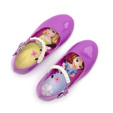 New Girls Disney Store Sofia The First Shoes Size 5 6 7 Infant Pink / Purple