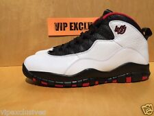 Nike Air Jordan X Retro 10 Double Nickel White Varsity Red Black 310805-102