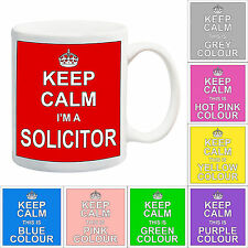 Keep Calm I'M A SOLICITOR MUG Gift Present + Legal Variations