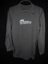 MIAMI DOLPHINS GAME USED GREY NIKE LONG SLEEVE DRI-FIT *HUGE SALE* 3XL & 4XL