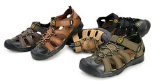Men's Sport Leather Sandals Casual Shoes For Fisherman Outdoor Sandals Shoes
