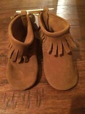 Baby Gap Moccasins booties  fringe Cocoa