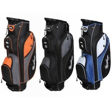 Confidence Golf Pro II 14 Way Divider Full Length Cart Bag w/Cooler Pocket