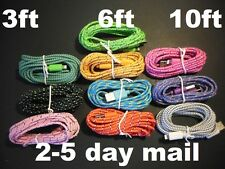 3ft/6ft/10ft Braided 8pin USB Charger Cable Cord Sync iPhone 5 5s iphone 6 PLUS