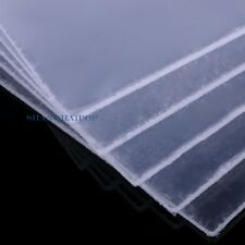 2 X Clear Square Plastic Acrylic Perspex Sheet Board Doll House 200X200mm 1-3mm