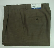 NWT $150 HART SCHAFFNER MARX WOOL CLASSIC DRESS PANTS MENS 38 Long Pleats  NEW