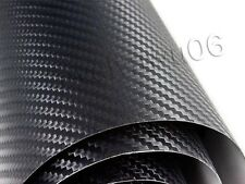 "12""×50"" DIY Auto Car 3D Carbon Fiber Vinyl Wrap Roll Film Sheet Decal Sticker"
