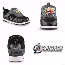 AVENGERS HULK THOR Light-Up Sneakers Shoes NWT Boys Size 11 12 13 1 2 or 3  $40