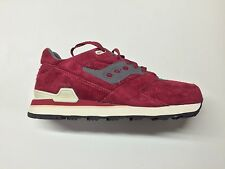 SAUCONY COURAGEOUS RED SUEDE SNEAKERS RUNNERS TRAINERS PREMIUM LUX S70162-1