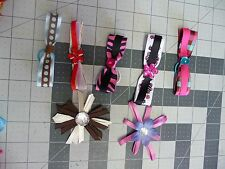 3.5 inch Large Handmade Exchangeable Bows for Carols Crate Cover Dog Items