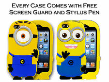 3D Soft Silicone Despicable Me Minion Gel Case Cover For Apple iPod Touch 5