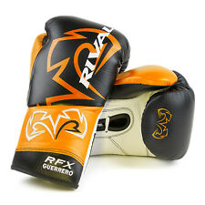 """RIVAL BOXING GLOVES-PRO FIGHT-W/FREE 180"""" RIVAL MEXICAN STYLE HAND WRAPS"""
