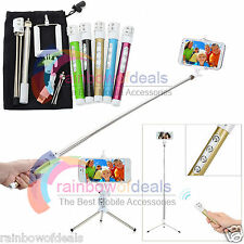 Selfie Monopod Tripod Rechargeable Bluetooth Stick For Samsung iPhone 6 Plus HTC