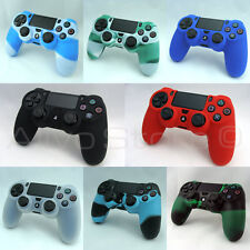 Super Grip PRO Silicone Rubber Case Cover Skin for PS4 Controller Camouflage