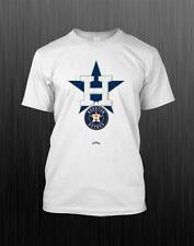 MLB Houston Astros White 100% Polyester Men Short Sleeve T Shirt AA131103