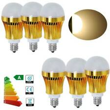 6X 3W E12 Candelabra LED Globe Bulb Corn Lamp Warm White Energy Saving Spotlight