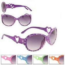Dotty Heart Sunglasses Shades Kids Childrens Girls 100% UV Protection