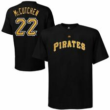 Pittsburgh Pirates Andrew McCutchen Black Name and Number T-Shirt