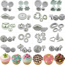 Fondant Cake Plunger Cutter Decorating Tools Craft Candy Molds Wedding Cupcake