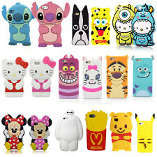 3D Cartoon Superhero Soft Silicone Rubber Case Cover For Apple Samsung LG HTC A7