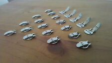 5, 10, 20 or 50 Blank Stainless Steel Shoe Clips, Elegant, Bridal Accessories