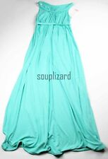 New Womens Maternity Dress Aqua Maxi Sleeveless NWT Liz Lange Size XS S M L XL