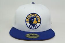 Montreal Expos White Blue Yellow Air Jordan Laney MLB New Era 59Fifty Fitted Hat