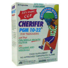 Cherifer PGM Boys and Girls 10-22 Teen Growth Supplement 10,30,100 1 Year Supply