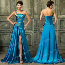 1950s style Long prom dresses masquerade ball gowns WEDDING formal vintage party