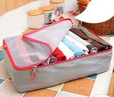 3pcs/set Portable Travel Luggage Storage Bag Cube Organizer Bag For Packing Sale