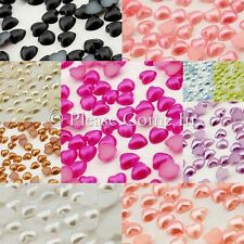 4mm Mini Pearl Heart Rhinestone Scrapbooking/Nail Art
