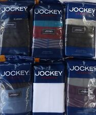 JOCKEY MEN'S Classics Midway Briefs Seamless Waistband  2 Pack Choose Colors