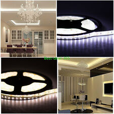 5M SMD 300leds 3014 3528 5050 5630 Waterproof LED Flexible Strip Light 12V DC