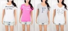 NWT Abercrombie Women's T Shirt Embellished Tee By Hollister