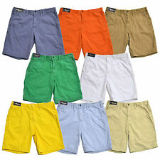 Polo Ralph Lauren Mens Shorts Casual Relaxed Fit Flat Front Solid New W034p