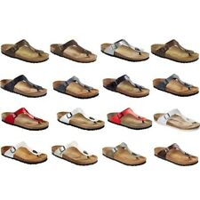 Birkenstock Gizeh Sandals regular and narrow width different colors - Birko-Flor