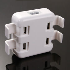 4-Port USB Charger Station HUB Travel Wall Desktop Adapter for iphone 4 5 6 plus