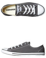 New Converse Chuck Taylor Womens All Star Dainty Lo Shoe Women's Shoes Grey
