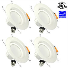 4&6 inch Dimmable LED Recessed Lighting E26 Retrofit Downlight Kit Ship From US