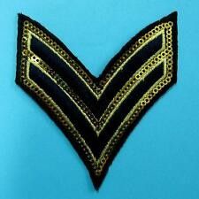 Army Military Police Insignia Iron on Sew Embroidered Sequin Patch Badge Biker