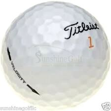 50 MINT Titleist Velocity AAAAA Used Golf Balls